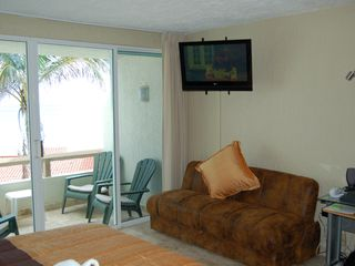 Cancun condo photo - Fold out sofa