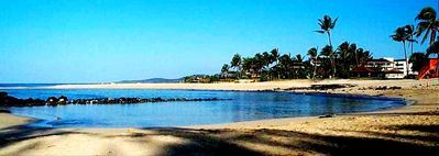 Poipu Beach Park, America's #1 Beach is about one mile East of Ahe Lani