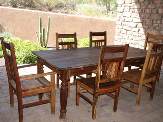 Fountain Hills house photo - Courtyard off kitchen for more outdoor dining. Shaded to escape heat.