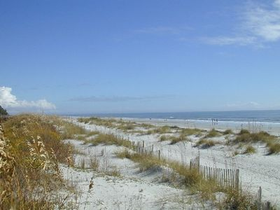 Three miles of beautiful beaches within the Palmetto Dunes Resort!