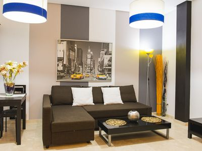 Air-conditioned accommodation, 53 square meters , Malaga