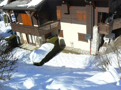 2 apartments available for 5 to 9 people, ski slopes, Les Houches