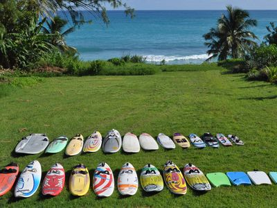 Windsurf, kitesurf, surf, sup boards