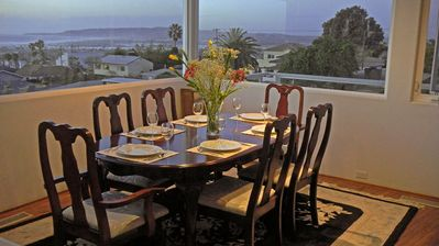 2nd Floor dining Room with wonderful view