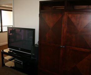 Waikiki condo photo - Plasma TV and Armoire Wardrobe