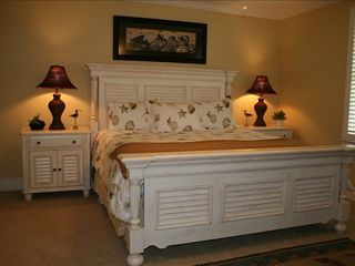 St. Simons Island house photo - Guest Bedroom with King Bed