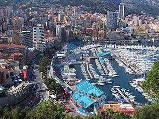 Monaco Grand Prix set up
