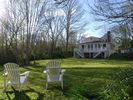 Beautiful private backyard featuring hammocks and BBQ. - Barnstable house vacation rental photo