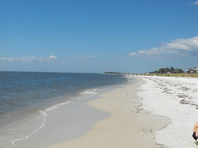 Alligator Point house rental - Beautiful beach just steps away.
