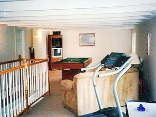 Montage Mountain house photo - Game Room with Pool Table, Air Hockey, & Darts