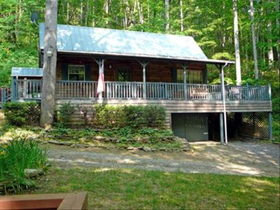 Whittier cabin rental - Cabin on a Creek