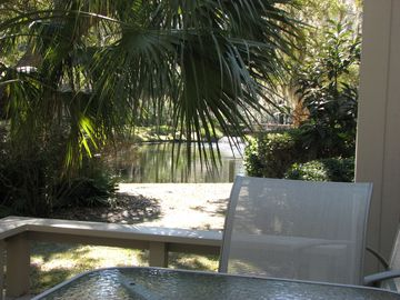 Back deck and Lagoon