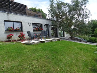 In Béarn between sea and mountain-pool int private, heated, against the current.