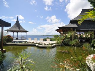 Tobago villa photo - View of Gazebo with Shallow and Deep Pool