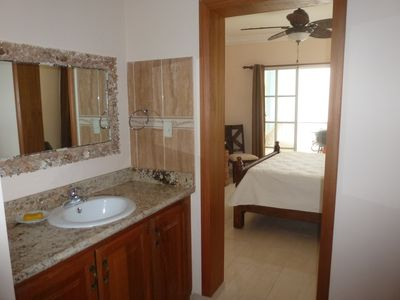 Punta Cana apartment rental - Master Bedroom with ceiling fans with remote