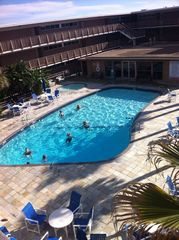 North Padre Island condo photo - Another pic of heated pool and baby pool.