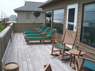 Surf City house photo - BACK DECK 3