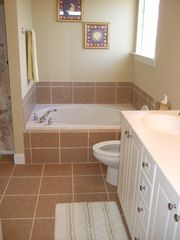 Carolina Beach townhome photo - Master Bath