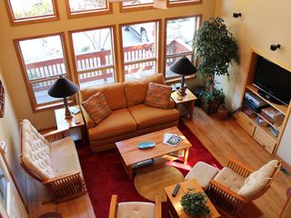 Prescott chalet photo - Great Room in Back Chalet