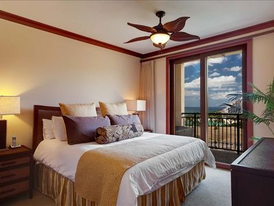 "Master Bedroom Premium King Bed, 40"" Sony HDTV DVD, Ocean View Lanai"