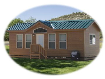 Cottonwood cottage rental - Enjoy 1 of our 6 NEW Cottages, deck options also available call 1-888-551-9102