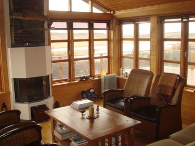 Luxorius riverside Lodge In Western Iceland