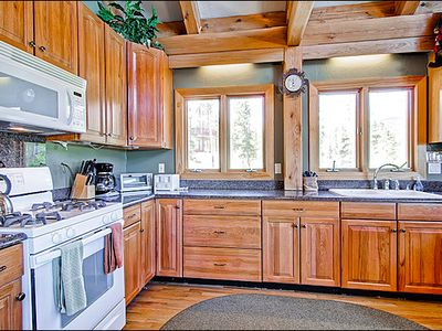 Large, Open Kitchen