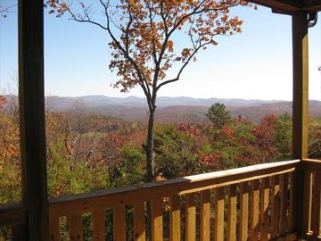 Ellijay cabin rental - View from Back Deck