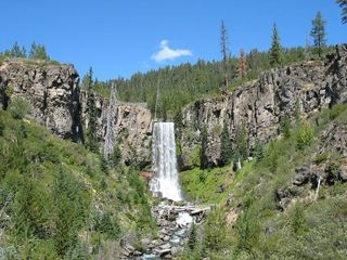 Bend condo photo - Tumalo Falls a short drive away.