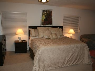 King Bed - Master Bedroom