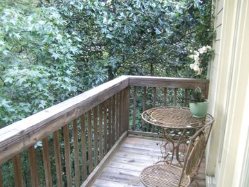 deck outside of master suite