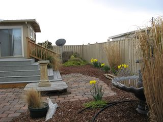 Coupeville house photo - Two fully fenced side yards, nicely landscaped.