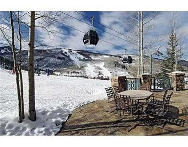 Beaver Creek condo rental - McCoy Peak patio