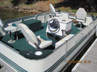 Fifty Lakes cabin photo - Pontoon Boat for rent