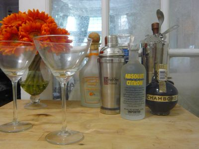 Help yourself to a welcome drink