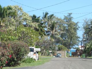Kailua house photo - Beach is just a stroll down the block. Enjoy morning coffee as the sun rises.