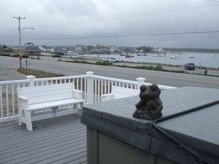 Seabrook house photo - Deck view