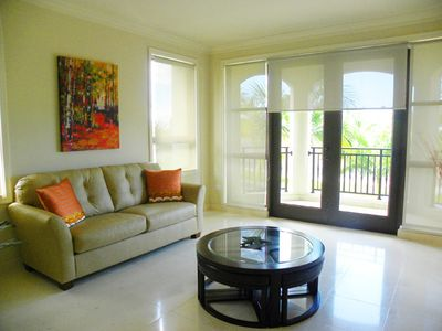 Rio Grande condo rental - Den with Flat screen TV