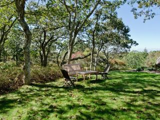Chilmark house photo - The Private Setting Includes Wooded Areas, Large Yards, Relaxing Nooks