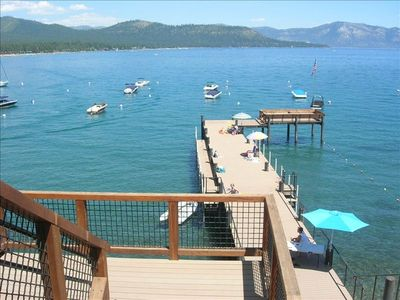 Enjoy great views and swimming from the large and beautiful Agate Bay pier!