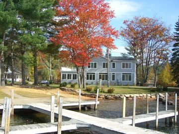 Laconia house rental - View from Lake