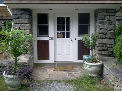 Entrance to Garden Efficiency