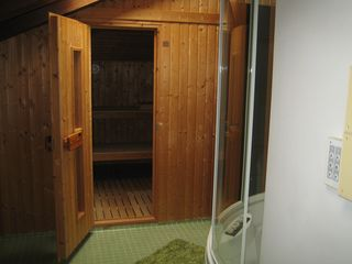 Treviso villa photo - Sauna and whirlpool with steam bath