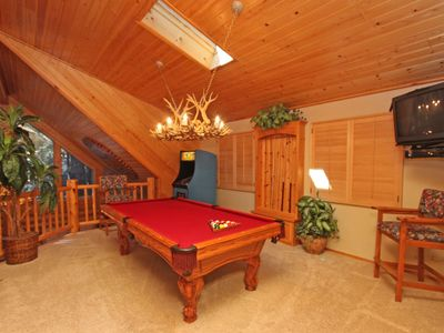 Pool table in main house!