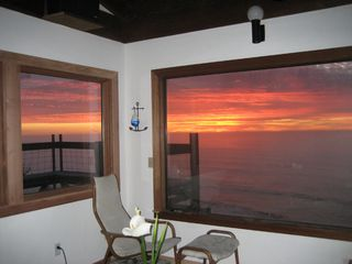 Irish Beach house photo - Sunset from living room