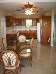 Key Largo house photo - Spacious fully equipped kitchen, large dining room, terrazo floors