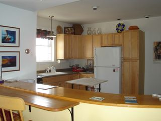Belfast apartment photo - Inn kitchen - great social bar area open to living area