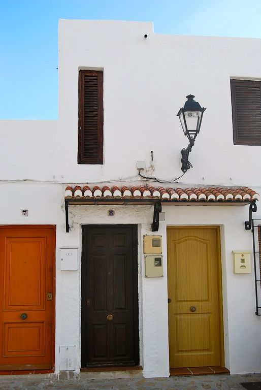 front entrance andalusian style