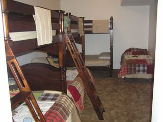 Lincoln townhome photo - Downstairs Bunkroom Sleeps 7+