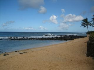 Poipu house photo - Beautiful, Quiet Baby Beach. Awesome sunsets and whales, Nov-April